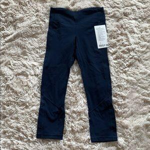 Brand new lululemon pace rival crop leggings